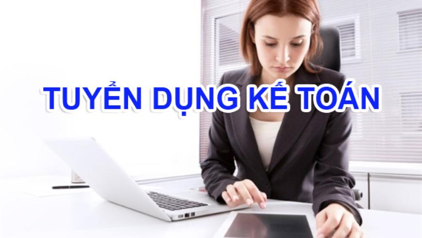 Tuyển dụng kế toán, thu ngân tại Hà Nội